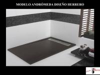 Plato de ducha modelo Andrómeda Piedra de Diseño Herrero