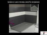 Plato de ducha modelo Ares Piedra de Diseño Herrero