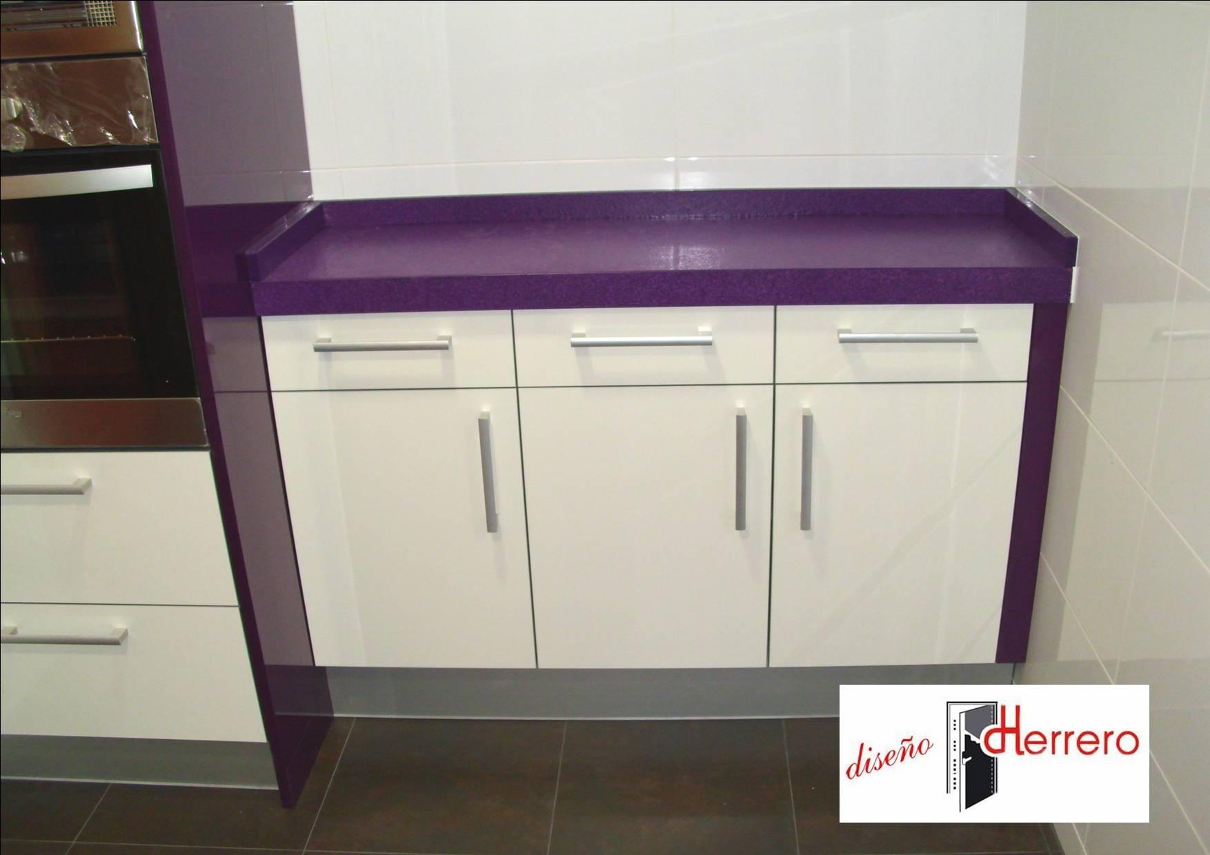 La cocina de color lila datos curiosos del color morado - Cocina color lila ...