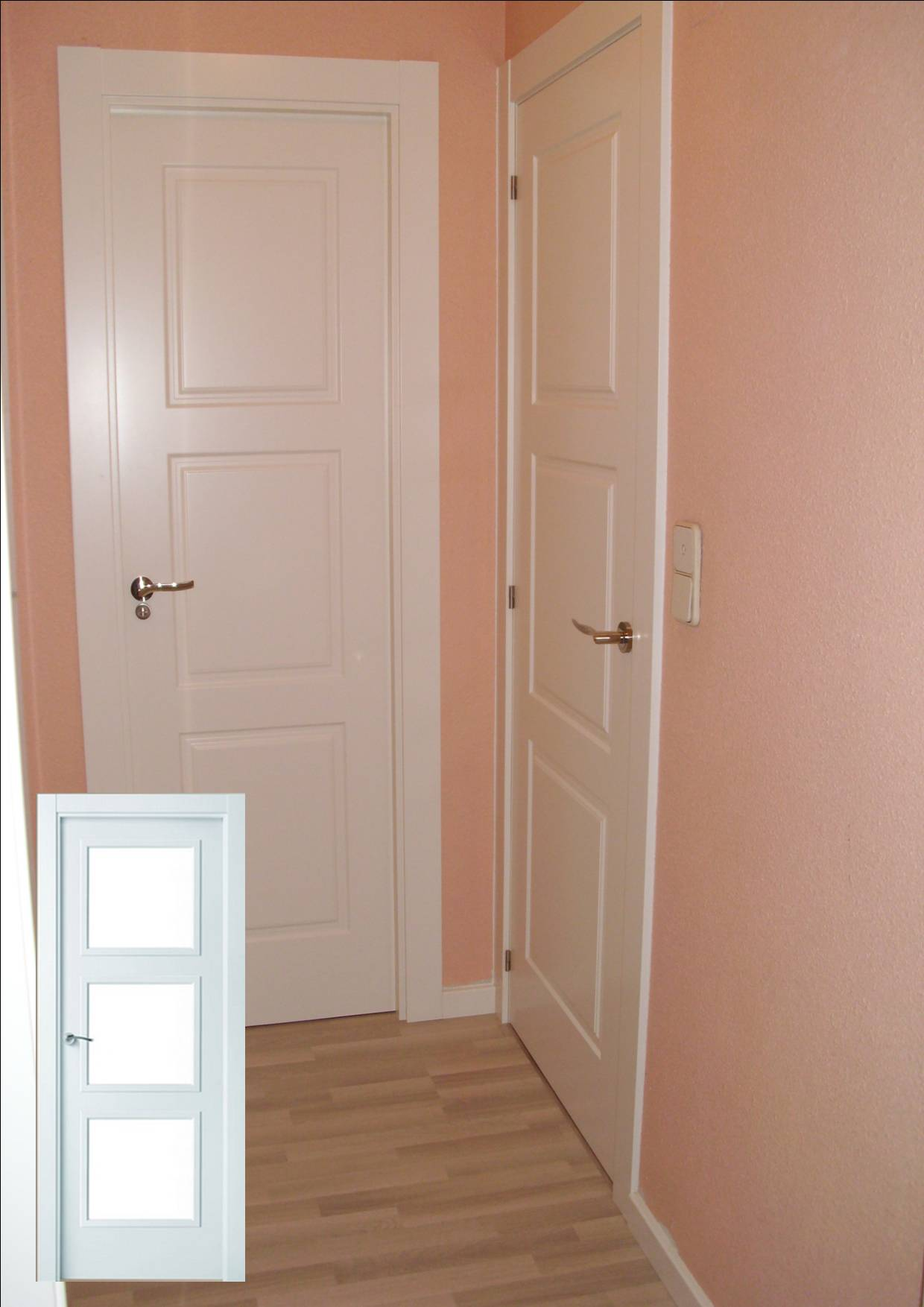Instalación de puertas y tarima de Diseño Herrero en Zaragoza