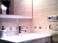 Reforma de baño en Zaragoza mueble y espejo